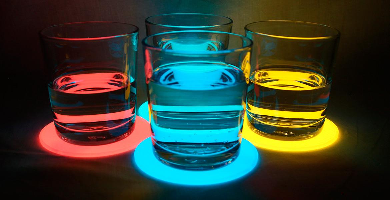Produits luminescents de la gamme Nightshine